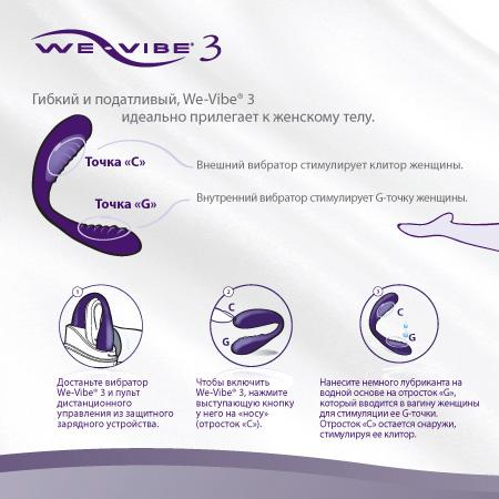 инструкция We-vibe 3 - фото 6